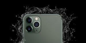 iPhone water resistant