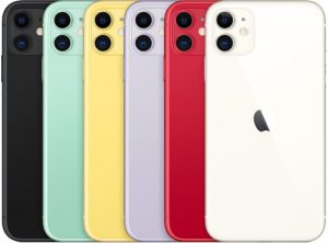 colors of iPhone 11